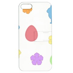Easter Patches  Apple Iphone 5 Hardshell Case With Stand by Valentinaart