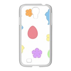 Easter Patches  Samsung Galaxy S4 I9500/ I9505 Case (white)
