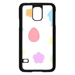 Easter Patches  Samsung Galaxy S5 Case (black)
