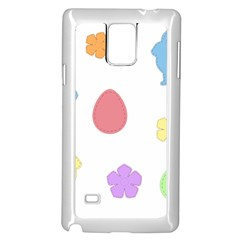 Easter Patches  Samsung Galaxy Note 4 Case (white)