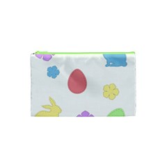 Easter Patches  Cosmetic Bag (xs) by Valentinaart