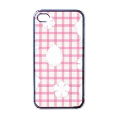 Easter Patches  Apple Iphone 4 Case (black)