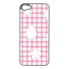 Easter Patches  Apple Iphone 5 Case (silver)