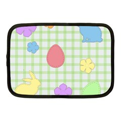 Easter Patches  Netbook Case (medium)  by Valentinaart