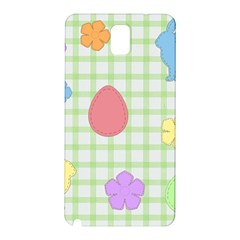 Easter Patches  Samsung Galaxy Note 3 N9005 Hardshell Back Case by Valentinaart