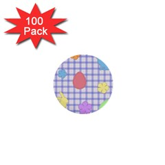 Easter Patches  1  Mini Buttons (100 Pack)