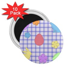 Easter Patches  2 25  Magnets (10 Pack)
