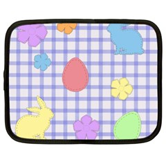 Easter Patches  Netbook Case (xl)  by Valentinaart