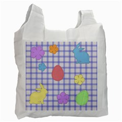 Easter Patches  Recycle Bag (one Side)