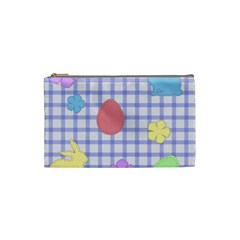 Easter Patches  Cosmetic Bag (small)  by Valentinaart