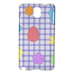 Easter Patches  Samsung Galaxy Note 3 N9005 Hardshell Case