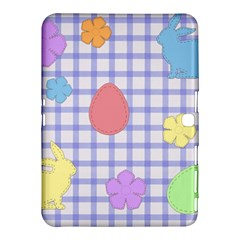 Easter Patches  Samsung Galaxy Tab 4 (10 1 ) Hardshell Case  by Valentinaart