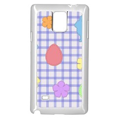 Easter Patches  Samsung Galaxy Note 4 Case (white) by Valentinaart