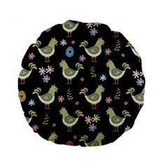 Easter Pattern Standard 15  Premium Round Cushions