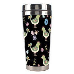 Easter Pattern Stainless Steel Travel Tumblers by Valentinaart