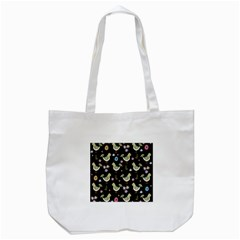 Easter Pattern Tote Bag (white)