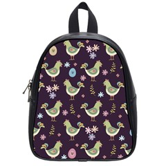 Easter Pattern School Bag (small)