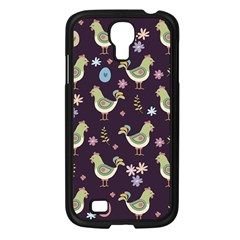 Easter Pattern Samsung Galaxy S4 I9500/ I9505 Case (black)