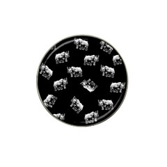 Rhino Pattern Hat Clip Ball Marker (10 Pack) by Valentinaart