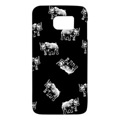 Rhino Pattern Galaxy S6 by Valentinaart
