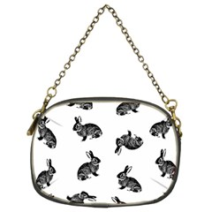 Rabbit Pattern Chain Purses (two Sides)  by Valentinaart
