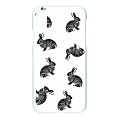 Rabbit Pattern Apple Iphone X Hardshell Case
