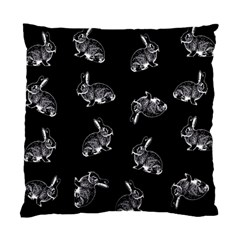 Rabbit Pattern Standard Cushion Case (one Side)
