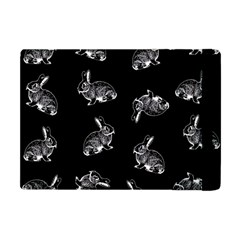 Rabbit Pattern Apple Ipad Mini Flip Case by Valentinaart