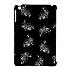 Rabbit Pattern Apple Ipad Mini Hardshell Case (compatible With Smart Cover)