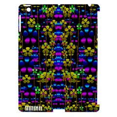 Flowers In The Most Beautiful  Dark Apple Ipad 3/4 Hardshell Case (compatible With Smart Cover) by pepitasart
