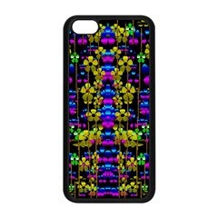 Flowers In The Most Beautiful  Dark Apple Iphone 5c Seamless Case (black) by pepitasart