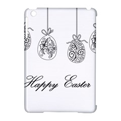 Easter Eggs Apple Ipad Mini Hardshell Case (compatible With Smart Cover) by Valentinaart
