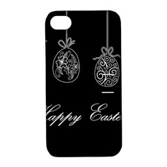 Easter Eggs Apple Iphone 4/4s Hardshell Case With Stand