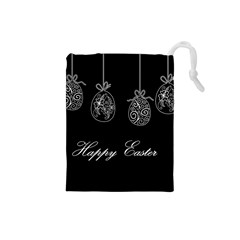 Easter Eggs Drawstring Pouches (small)