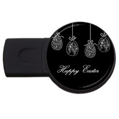 Easter Eggs Usb Flash Drive Round (2 Gb) by Valentinaart