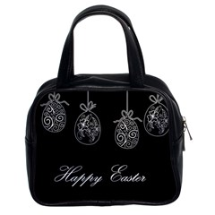 Easter Eggs Classic Handbags (2 Sides) by Valentinaart