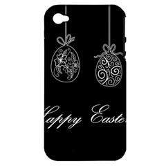 Easter Eggs Apple Iphone 4/4s Hardshell Case (pc+silicone)