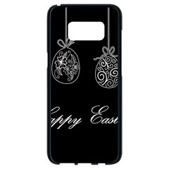 Easter Eggs Samsung Galaxy S8 Black Seamless Case