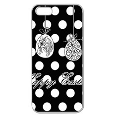 Easter Eggs Apple Seamless Iphone 5 Case (clear)