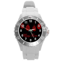 Easter Eggs Round Plastic Sport Watch (l)