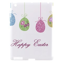 Easter Eggs Apple Ipad 3/4 Hardshell Case (compatible With Smart Cover)