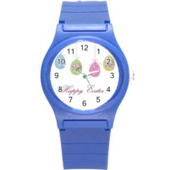 Easter Eggs Round Plastic Sport Watch (s)