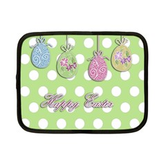 Easter Eggs Netbook Case (small)  by Valentinaart