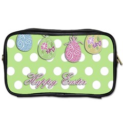 Easter Eggs Toiletries Bags by Valentinaart