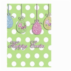 Easter Eggs Small Garden Flag (two Sides) by Valentinaart