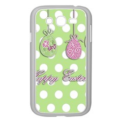 Easter Eggs Samsung Galaxy Grand Duos I9082 Case (white) by Valentinaart