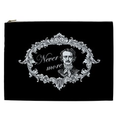 Edgar Allan Poe    Never More Cosmetic Bag (xxl)  by Valentinaart