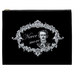 Edgar Allan Poe    Never More Cosmetic Bag (xxxl)  by Valentinaart