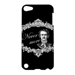 Edgar Allan Poe    Never More Apple Ipod Touch 5 Hardshell Case by Valentinaart