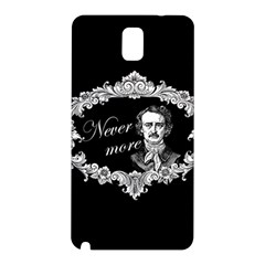 Edgar Allan Poe    Never More Samsung Galaxy Note 3 N9005 Hardshell Back Case